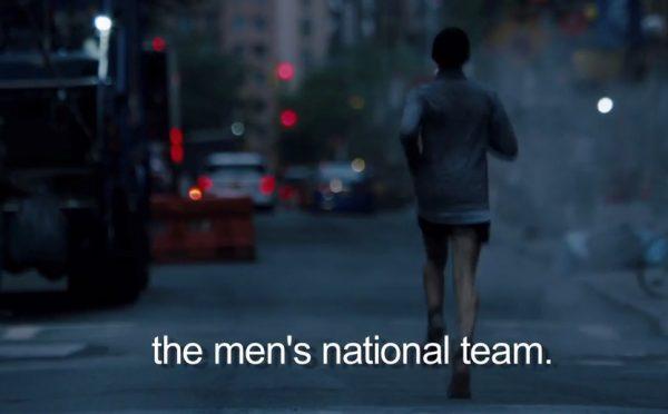Transatleet Mosier in Nike-video