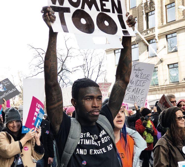 De vrouwenmars werkt aan meer inclusiviteit