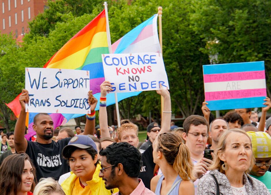 Trumps vertrek is zegen voor transgender personen in VS