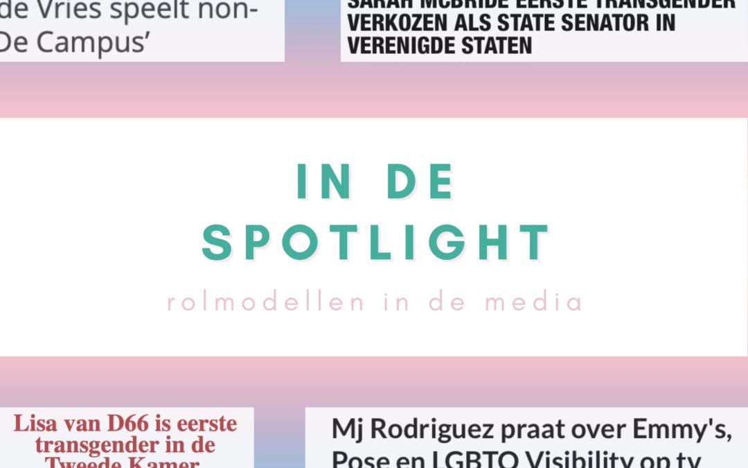 In de spotlight: rolmodellen in de media