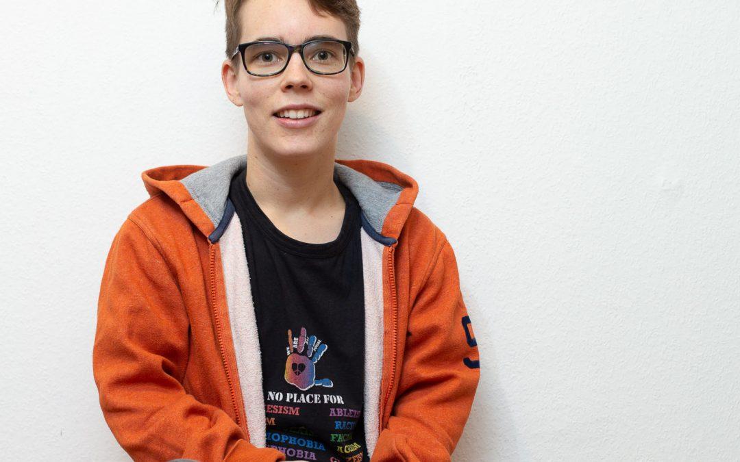 Jasse hoopt dat in de toekomst transgender zijn net zo geaccepteerd is als cisgender zijn.